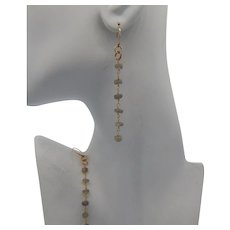 14KGF Labradorite Dangle Earrings