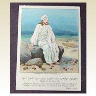 Antique 1904  American Baptist Quarterly Picture Vol.24