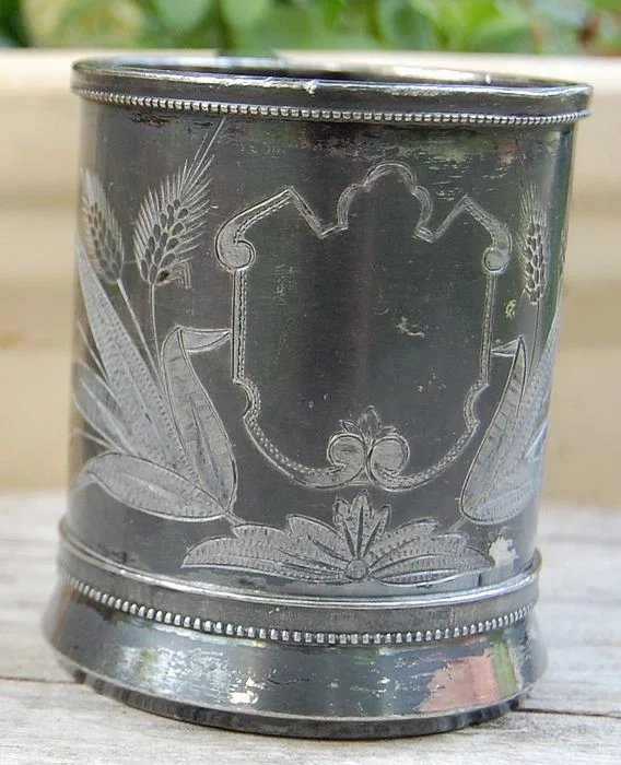 Victorian Simpson Hall Miller Silverplate Baby Cup Best