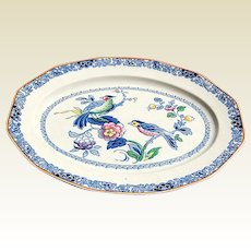 Booths Made In England Transfer Ware Platter