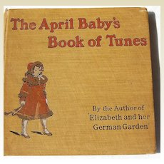 The April Baby's Book of Tunes Illustrated by Kate Greenaway 1901