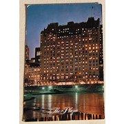 Vintage Postcard The Plaza New York City