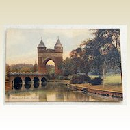 Vintage Postcard Memorial Arch Hartford Conn
