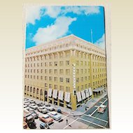 Vintage Postcard Bellevue Hotel San Francisco California