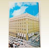 Vintage Postcard Bellevue Hotel San Francisco California