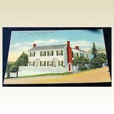 Old Home Of Governor Alexander McNutt Vicksburg Mississippi Postcard