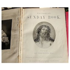 The Pictorial Sunday Book Dr. John Kitto