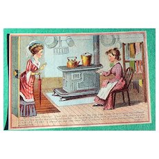 Antique Diamond Dyes Trade Card