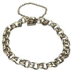 12K Gold Filled Charm Bracelet