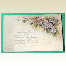 1908 An Easter Token Postcard #806 D