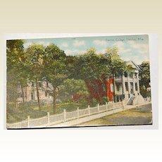 Stanton College Natchez Mississippi Post Card