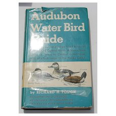 1st Edition Audubon Water Bird Guide 1951 Full Color Plates