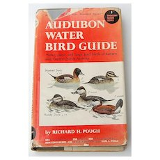 1951 Audubon Water Bird Guide 1st Edition Full Color Plates