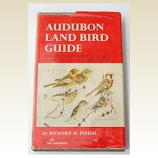 1949 Audubon Land Bird Guide By Richard H. Pough