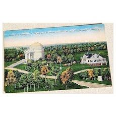 Vintage Postcard National Military Park Vicksburg Mississippi