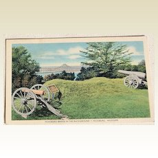 Vintage Postcard Vicksburg National Military Park Vicksburg, Mississippi