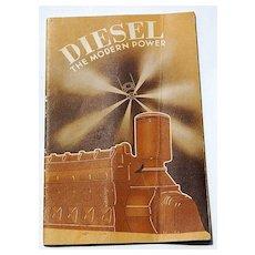 1936 Diesel The Modern Power