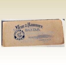 Vintage Arm & Hammer Soda Ink Blotter