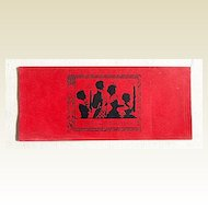 Art Deco Cumberland County Christmas Bank Gift Money Envelope