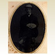 Victorian Tin Type Gentleman