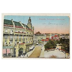 World War 1 Post Card Soldiers Mail Germany