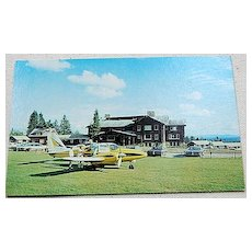 Vintage Postcard Sky Lodge & Motel Moose River Maine