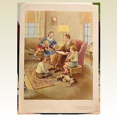Dorothy Handsaker Lithograph Nursery Class Picture #9 Southern Baptist Convention
