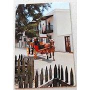 Vintage Post Card San Agustin Antiguo St. Augustine Florida