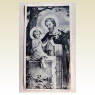 Vintage St. Mary's Mission House Lenten Letter