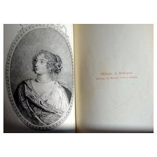 Secret Memoirs Of Madame La Marquise de Montespan Volumes I & II