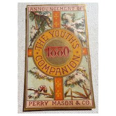Antique Victorian Trade Card Perry Mason & Co.