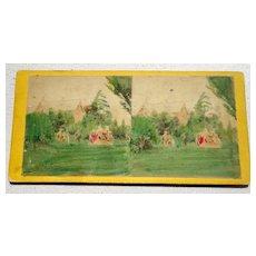 1868 Stereoview No. 6208 Central Park