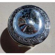 Webster Sterling Silver Dresser Jar