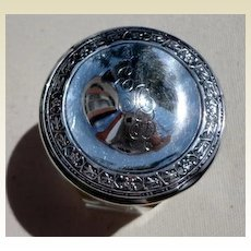 Webster Sterling Silver Dresser Jar