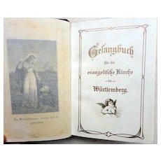 German Leather Prayer Book