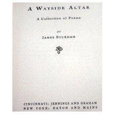 1905 A Wayside Altar By James Buckham