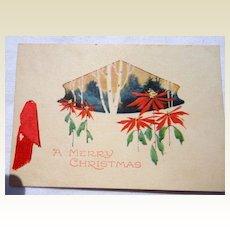 Art Deco Gibson Christmas Card