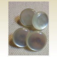 Vintage Mother Of Pearl Cuff Links