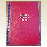 1945 Delbridge Interest Book No. 102