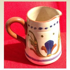 Vintage English Torquay Motto Ware Creamer
