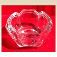 Vintage Glass Master Salt Dish