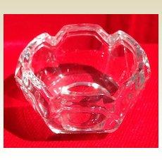 Vintage Glass Master Salt Dish