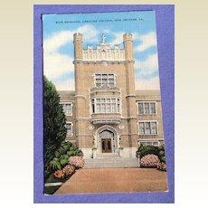 Vintage Ursuline College New Orleans Post Card