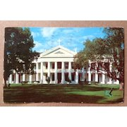 1958 Manresa House Of Retreats Convent, Louisiana Post Card The Price Is Right