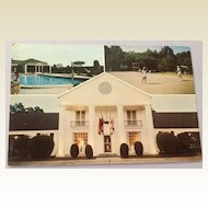 Vintage Bellemont Motor Hotel And Restaurant Natchez Mississippi Post Card