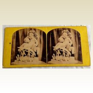 1867 Stereo-Photography Stereo View Card Puck #70 Exhibition 1851