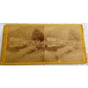 1866 - 1876  Stereo Photography Stero View Card