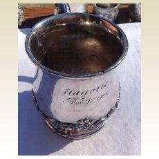 Victorian 1906 3Reed & Barton Silver Plate Baby Cup/Mug