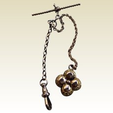 Victorian Gold Filled Watch Chain & Fob