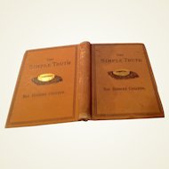1878 The Simple Truth By Rev. Robert Collver